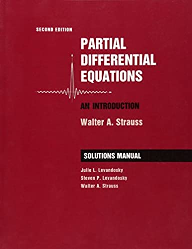 student solutions manual to accompany partial differential equations rh amazon com Diffusion Equation Dirac Equation