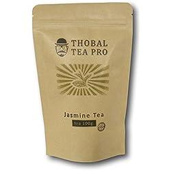 Premium Jasmine Green Tea Pearls Jasmine Dragon Phoenix Pearl tea 3.5oz