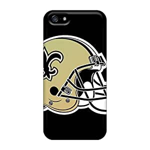 Gtw2055sXBt Richardcustom2008 New Orleans Saints Durable Iphone 5/5s Tpu Flexible Soft Cases