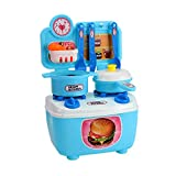 Children's Mini Kitchen Play House Puzzle Toy Birthday Present Educational Toy