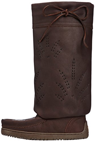 821519043629 - Manitobah Mukluks Women's Tall Gatherer Mukluk Winter Boot, Cocoa, 6 M US carousel main 4