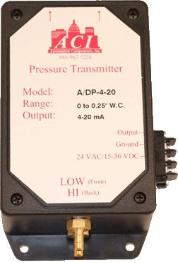 Automation Components Inc. (ACI) ADP710 STATIC PRESSURE DUCT SENSOR
