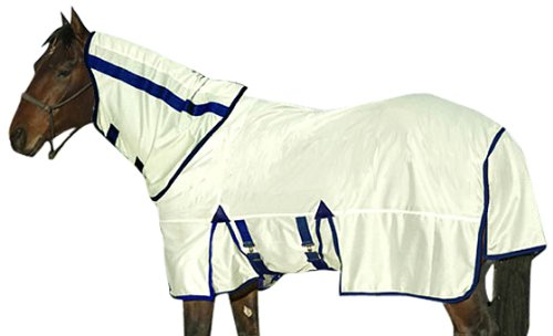 Exselle Fly Sheet and Removable Hood with Repellent, 74-Inch