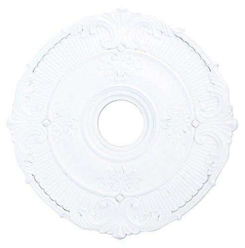 White Livex Lighting 82031-03 Buckingham Ceiling Medallion