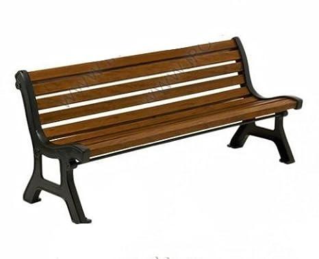 Panchine Da Giardino Legno E Ghisa : Panchina in ghisa e legno di pino amazon giardino e giardinaggio