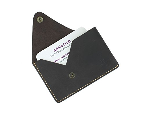 Green SLIM Visconti Leather Card VSL32 Collection Oil Business Holder BLADE Oil Credit Brown 4dqOWfxwvd
