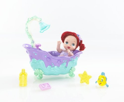 Disney Princess: Ariel Royal Nursery Mermaid Magic Bathtub Playset