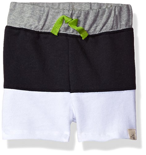 sex Baby Shorts, Infant Knit Bottoms, 100% Organic Cotton, Onyx French Terry, 3-6 Months ()