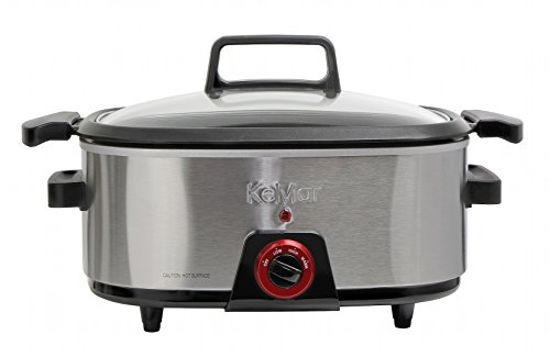 KeMar KSC-660 Schongarer, BPA-frei, Slowcooker mit Warmhaltefunktion