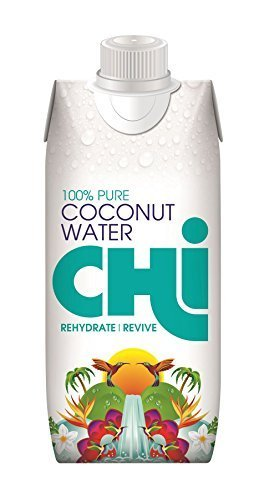 - Chi 100% Pure Coconut Water | 12 X 330ml | - SUPER SAVER - SAVE MONEY by Chi - Limited Chi