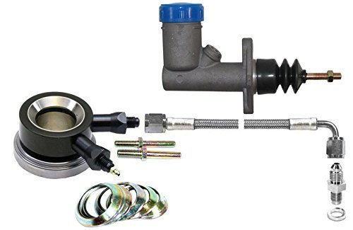 Throwout Bearing Kit - NEW SOUTHWEST SPEED HYDRAULIC THROWOUT RELEASE BEARING & MASTER CYLINDER WITH CLUTCH LINE KIT FOR 10.5