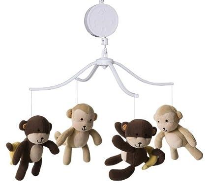 Kids-Outlet - Carillon da lettino scimmiette: Amazon.it: Prima infanzia