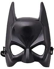 Halloween Half Face Batman Mask Black Masquerade Dressing Party Masks Cosplay Mask Costume