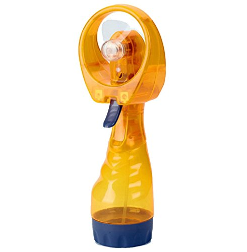Activated Comfort Massager (METFIT New Portable Hand held Cooling Cool Water Spray Misting Fan Mist Travel Beach (Yellow))