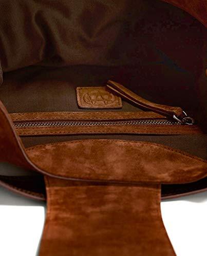 Dutti Split 6924 handbag 636 Femme suede Massimo Wq0wcXBEd0