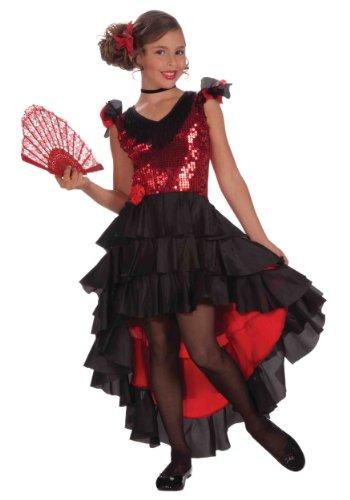 Forum Novelties Spanish Dancer Costume, Large