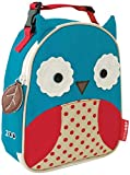 Skip Hop Zoo Kids Insulated Lunch Box, Otis Owl, Blue