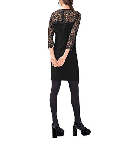 Collection ESPRIT Damen 001 Black Kleid Schwarz 0xdxzpHq