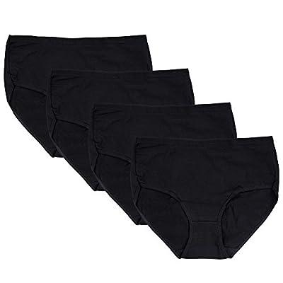 Closecret Women Comfort Cotton Stretch Classic Briefs Panties