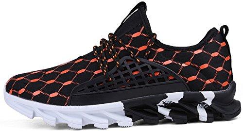 1701 Sport De Orange Chaussures À Homme Joomra Lacets Baskets Running 8BwHnqx