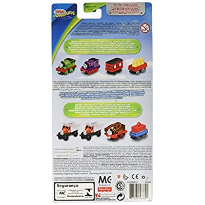 Thomas & Friends Adventures Sodor Postal Run Train Pack: Percy, Charlie, Mail Car & Flatbed with Mail Cargo: Toys & Games