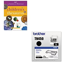 KITBRTTN450HOU1472086 - Value Kit - HOUGHTON MIFFLIN COMPANY American Heritage Children\'s Thesaurus (HOU1472086) and Brother TN450 TN-450 High-Yield Toner (BRTTN450)