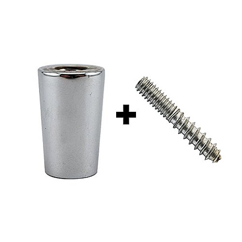 AJS Beer Tap Handle Standard Ferrule and Hanger Bolt Set, 10 of Each ()