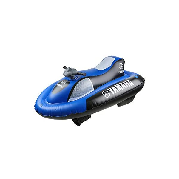 Yamaha YME23004, Moto d'Acqua Gonfiabile Aqua Cruise Elettrica Unisex-Bambino, Blu/Nero, 148 x 87cm (gonfio) 1 spesavip