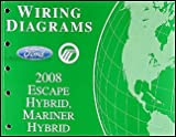 2008 Escape Hybrid/Mariner Hybrid Wiring Diagram Manual Original