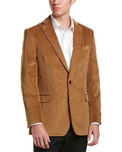Brooks Brothers Mens Regent Fit Sportcoat, 42R, Brown