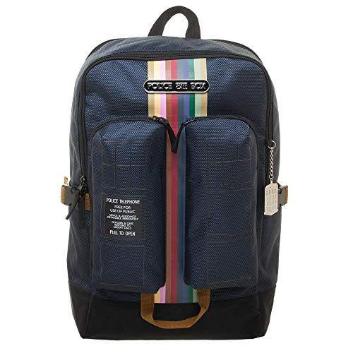 Tardis Double Pocket Backpack Doctor Who Standard