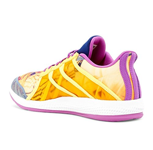 Damen Gymbreaker adidas Ftwbla Pursho Gelb Bounce Dorsol Violett Turnschuhe qgd5d