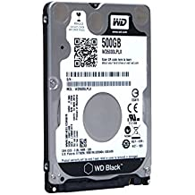 WD Black 500GB 7200 RPM SATA 6 Gb/s 32MB Cache 7 MM 2.5 Inch Performance Mobile Hard Disk Drive (WD5000LPLX) w/1 Year Warranty (Certified Refurbished)