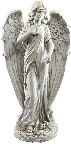 Alpine Corporation QFC104 Angel Statue Outdoor Garden