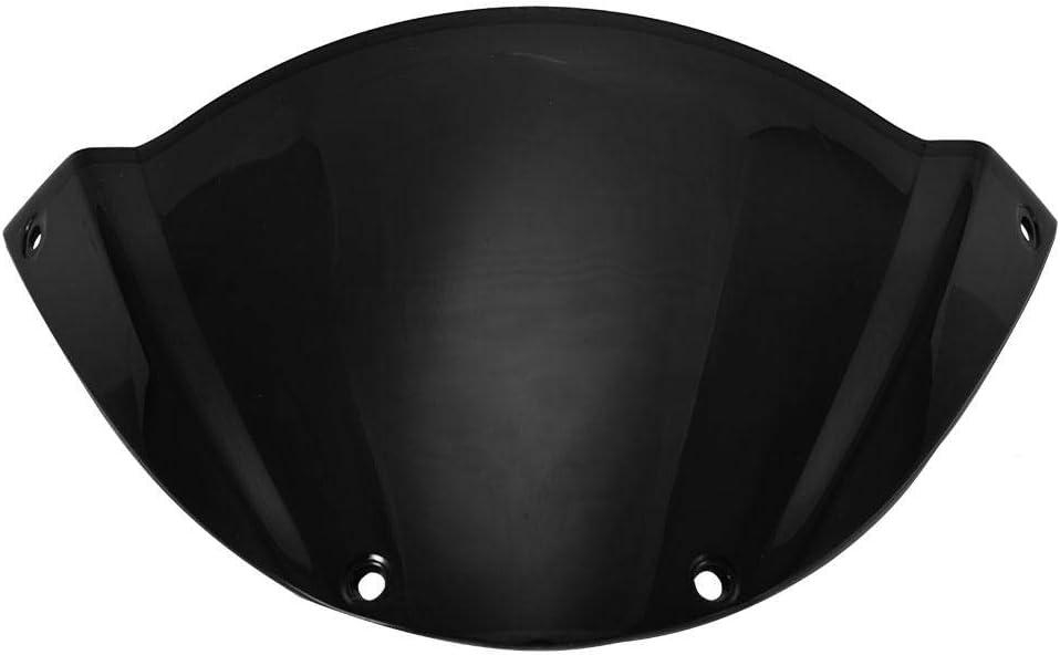 Qii lu Pare-brise de Moto noir D/éflecteur de Pare-brise de Vent Avant pour DUCATI 696 796 1100 1100S