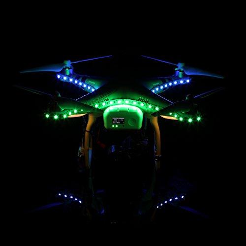 Colorful LED Strip Light for Drone DJI Phantom 3 Quadcopter Night Flying Decorative Lamp