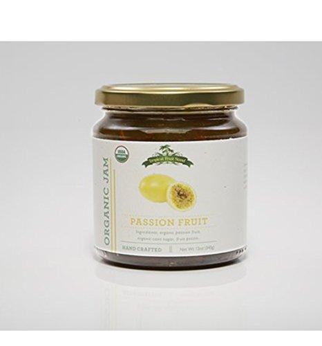 Tropical Fruit Stand ORGANIC Passion Fruit Jam -12 Ounce Jar (Passion Fruit, 12 Ounce)