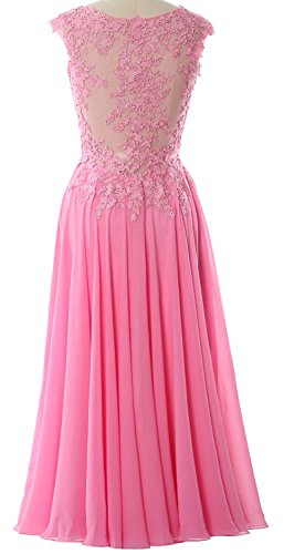 V Neck Prom Tea Minze Length Homecoming MACloth Evening Dress Formal Gorgeous Gown xRYqZwnS