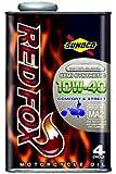 SUNOCO REDFOX 10W-40 1Lx1缶 スノコ レッドフォックス コンフォート&ストリート MA適合 セミ 部分合成油