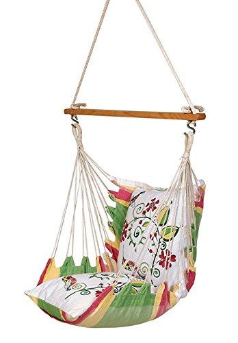 Hangit Cotton Swing Chair (Multicolor, 60 Centimeters)