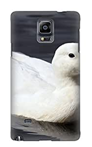 Special Storydnrmue Skin Case Cover For Galaxy Note 4, Popular Animal Duck Phone Case For New Year's Day's Gift