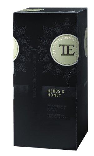 TE - Teahouse Exclusives Gourmet Tee Herbs & Honey 25 Beutel, 1er Pack (1 x 50 g)