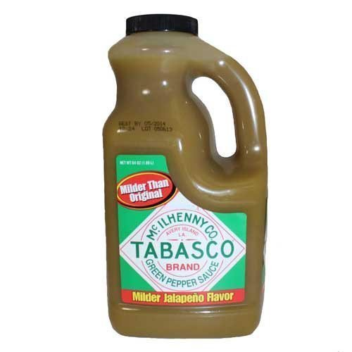 TABASCO Pepper Sauce - 64 Oz. - 1/2 Gallon (Jalapeno)