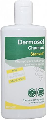 Stangest Dermosel - Champú para Perros y Gatos, 250 ml