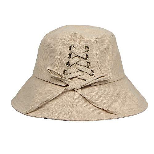 (DDKK hat 2019 Hot Deals Fashion Solid Silk Casual Scarf Head Cap India Cotton Muslim Hat Fold Cap Khaki)