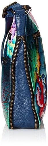 Anuschka Treasures Medium Crossbody Octr Ocean ZZRg4z
