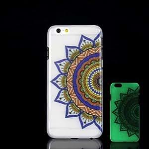 SHOUJIKE Aztec Pattern Glow in the Dark Hard Case for iPhone 6 Plus