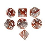 Set of 7 Multi Sided Dice Dungeons D&D RPG Games #6