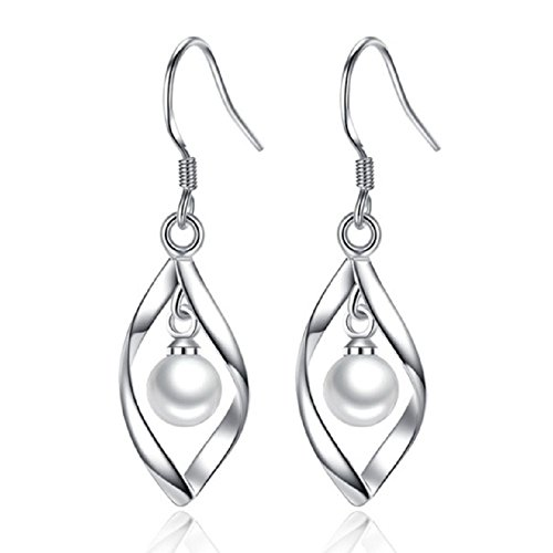 (Jewelryfruit Elegant Pearl Dangle)