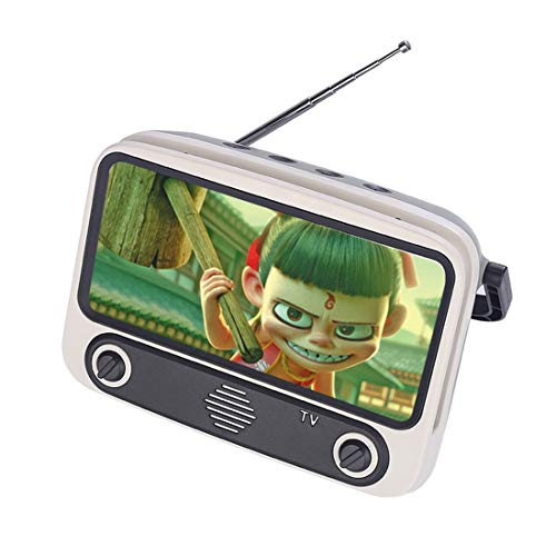 Polai Retro Tv Bluetooth Speaker Mobile Phone Holder Desktop Mobile Phone Stand Holder For Phones With 4 7 6 4 Inch Screen Buy Online In Albania Polai Products In Albania See Prices Reviews